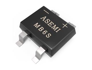 MB6S,MB4S,ASEMI贴片整流桥,高档品质LED驱动器电源标配整流桥MB6S,50MIL大规格芯片定义行业新标准MB6S