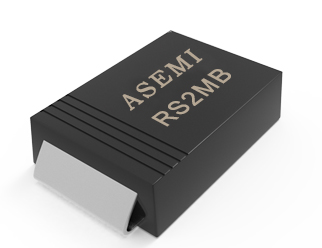 (RS2M-SMB) RS2MB/RS2KB/RS2JB/RS2GB/RS2DB, ASEMI快速恢复二极管