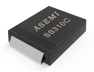 [SS310-SMC] SS310C/SS315C/SS320C/SS38C/SS36C/SS34C  ASEMI肖特基二极管