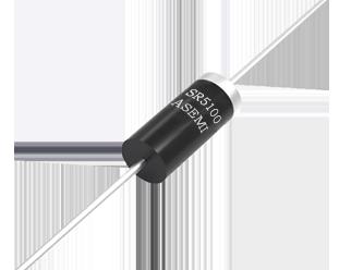 SR5100/SR5150/SR5200/SR580/SR560/SR540 ASEMI肖特基二极管