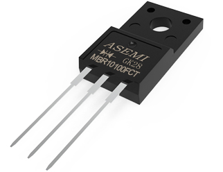 MBR10100FCT,MBR1060FCT/1045FCT/1040FCT,ASEMI肖特基二极管,品质高标准高压肖特基二极管