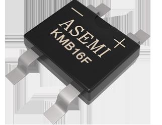 KMB16F/KMB14F/KMB110F,ASEMI贴片肖整流桥薄体贴片小封装用50MIL芯片,智能插座、电表设备适配整流桥
