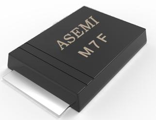 【M7F-SMAF】M7F/M6F/M5F,ASEMI贴片整流二极管,台系品质定位服务中高端市场需求,采用GPP芯片稳定性不发热